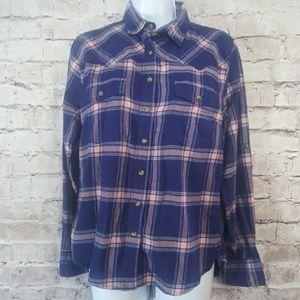 Jachs Girlfriend plaid button-down shirt